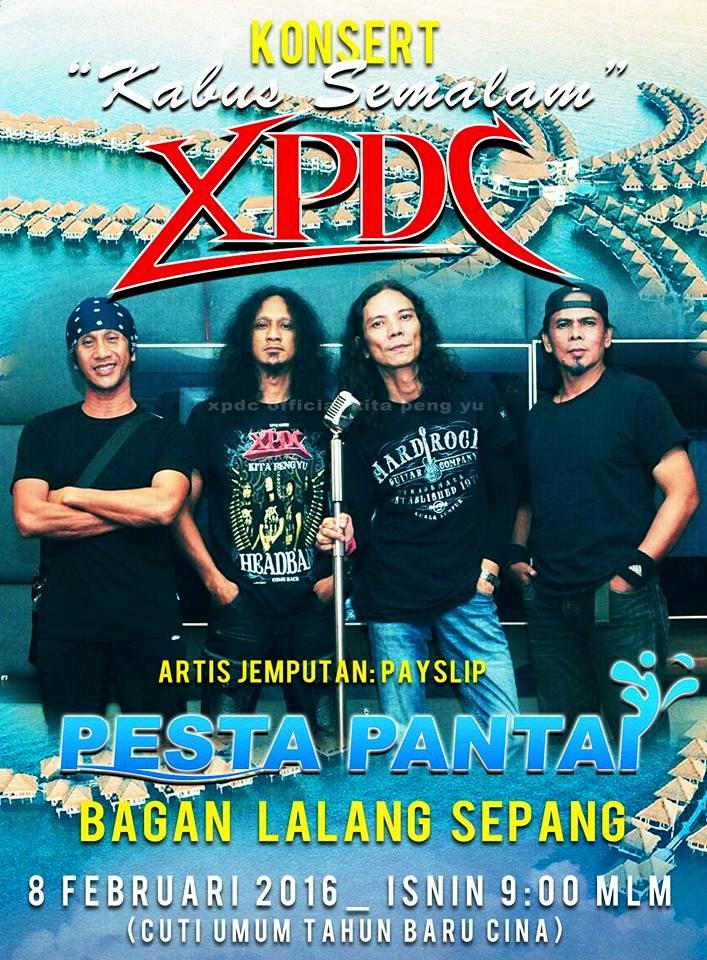 Event XPDC Konsert Kabus Semalam | 8 Februari 2016