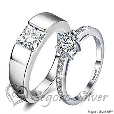 cincin tunangan melingkar