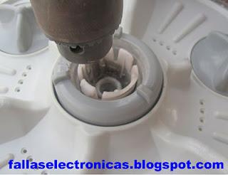 Cómo arreglar el agitador de una lavadora