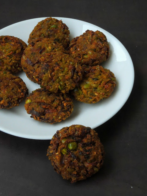 Mixed Dals & Mixed Lentils Fritters