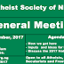 General Meeting of All Atheists, Humanists, Secularists and Freethinkers  in Nigeria