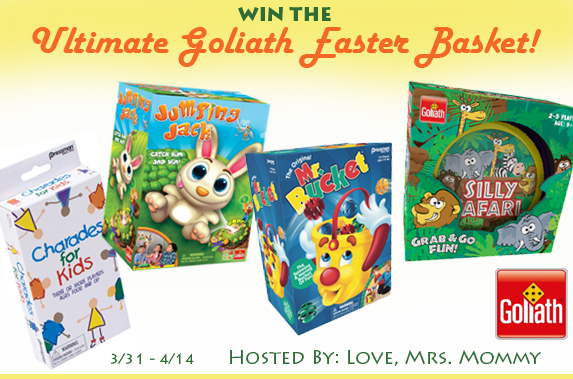 Ultimate Goliath Easter Basket Giveaway