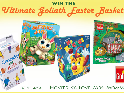 Ultimate Goliath Games Easter Basket Giveaway!