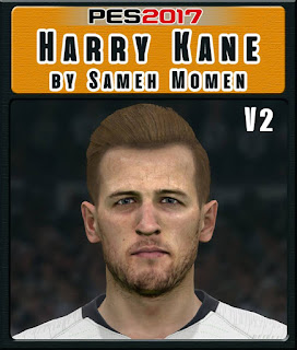 PES 2017 Faces Harry Kane by Sameh Momen