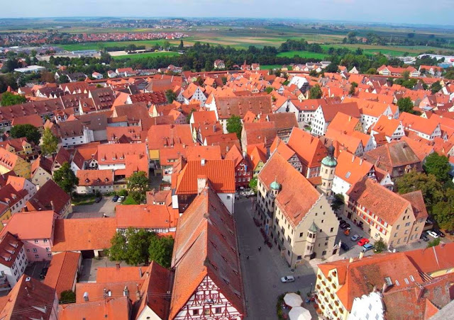 germany - Nordlingen city