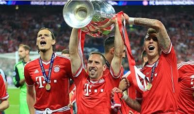 Bayern munchen, Daftar 5 Besar Klub Terbanyak Yang Menang Liga Champions