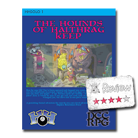 Frugal GM Review: The Hounds of Halthrag Keep