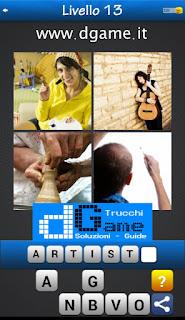 PACCHETTO 6 Soluzioni Trova la Parola - Foto Quiz con Immagini e Parole livello 13