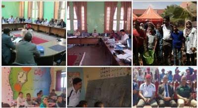 المديرية الاقليمية للتعليم بكلميم:لقاءات وزيارات ميدانية باستمرا لأجرأة المشاريع المندمجة للرؤية الاستراتيجية
