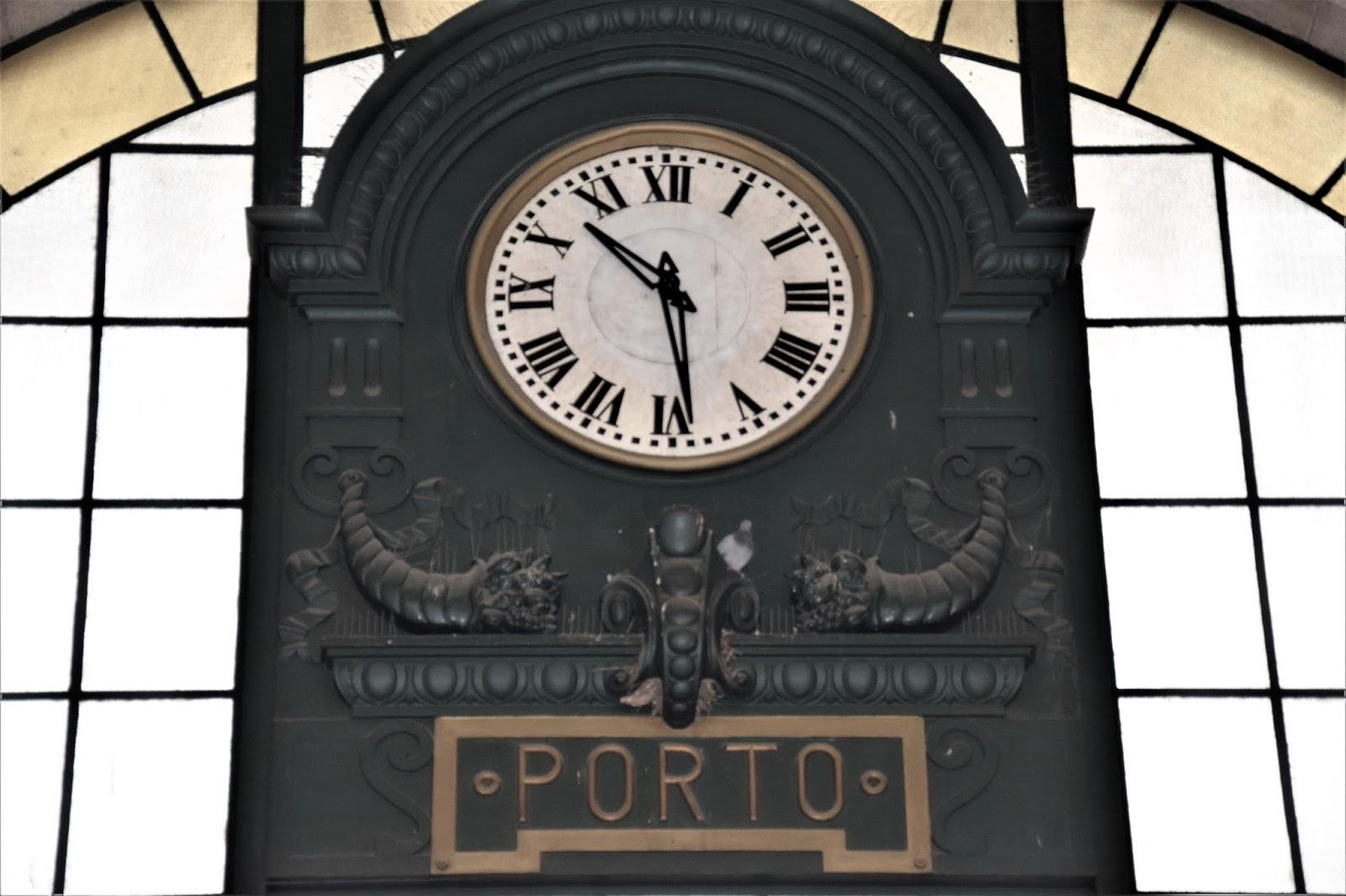 Porto horloge gare sao bento