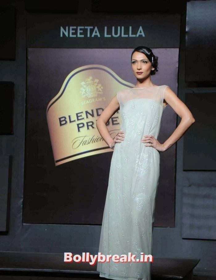 Shamita Singha, Tamanna, Kalki for Neeta Lulla at BPFT 2013