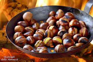 come cucinare le castagne in padella