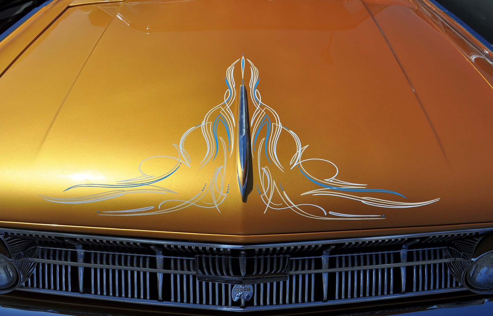 Classic Cars Authority Pinstriping And Pushbuttons