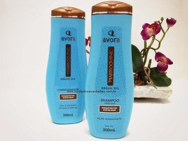Shampoo e Condicionador Avora