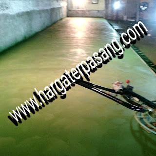 Jasa trowel lantai beton aplikator floor hardener lantai semen poles tabur floor hardener SIKA FOSROC