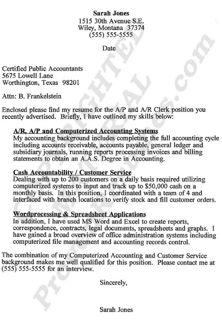 Accountant-Cover-Letter3 Job Application Letter For Accountant New Graduate on
