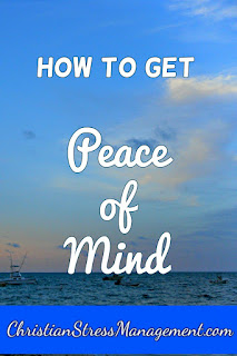 Christian Sermons: How to get peace of mind