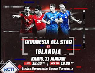 Indonesia Selection Dibantai Islandia 0-6