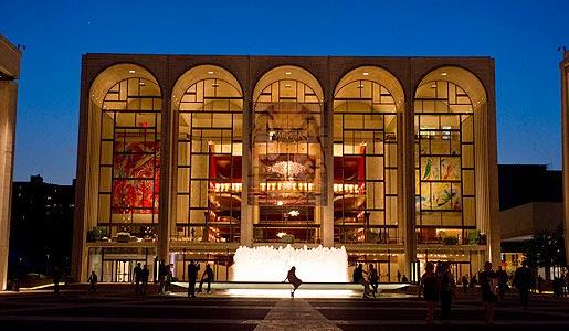 Metropolitan Opera House em Nova York