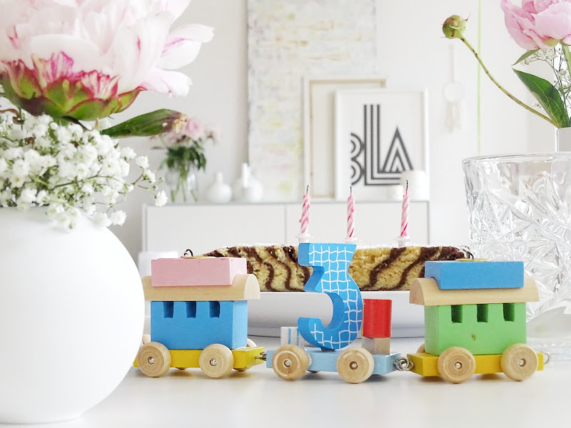 Rezept Zebrakuchen - 6 Deko-Ideen für Geburtstage - www.mammilade.blogspot.de - Impressionen eines 3. Geburtstages