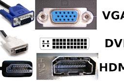 Perbedaan HDMI ber-Teknologi 4K dengan Port DVI dan VGA