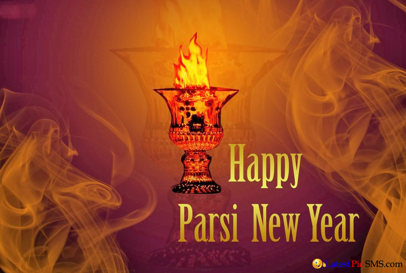 Happy Parsi New Year 2015 - SMS of The Day in English with Pictures for Whatsapp & Facebook