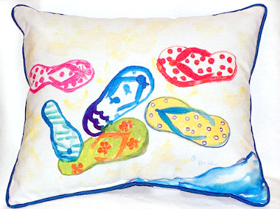 Flip Flop Home Decor Quilts Pillows Rugs Art Amp More