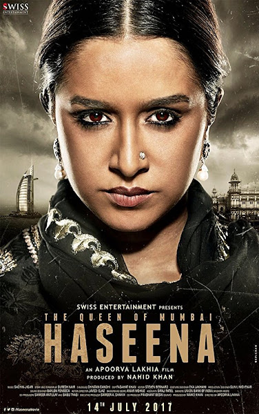 Poster of Haseena Parkar (2017) Full Movie [Hindi-DD5.1] 720p DVDRip Free Download