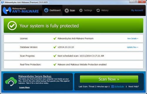 Malwarebytes Anti-Malware Premium 2.0.3 Full With Keygen Free Download