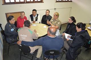 Autoridades finalizam esquema de segurança para o evento de Revezamento da Tocha Olímpica neste sábado, 30 de julho, em Teresópolis