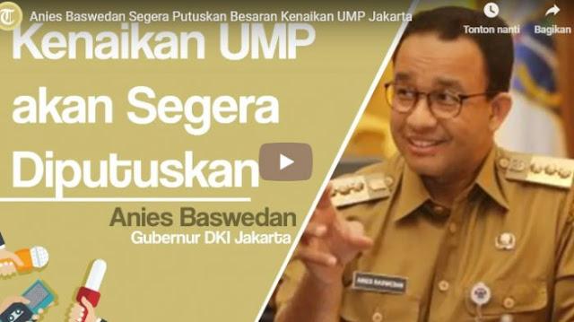 Serikat Pekerja Usulkan Kenaikan UMP 2019 di Jakarta Rp 4.373.820