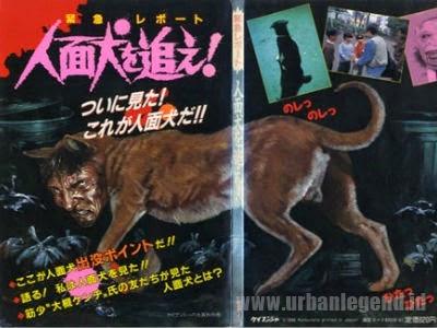 Jinmenken (Anjing Berwajah Manusia)