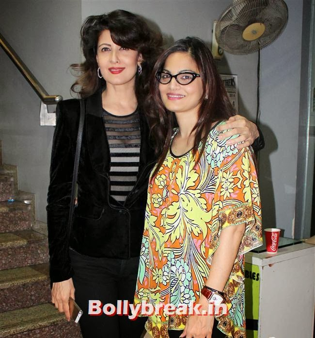 Sangeeta Bijlani and Alvira Khan