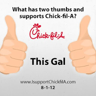 Supporting Chick-fil-A and honoring God