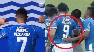 Esteban Vizcarra Batal Pakai Nomor Punggung 7 Karena Atep