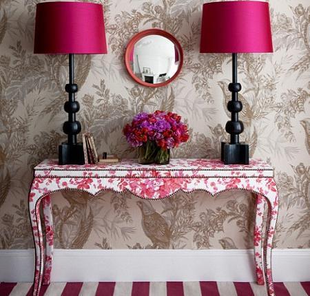 Decoraci n f cil dise ar el recibidor - Papel pintado autoadhesivo para muebles ...