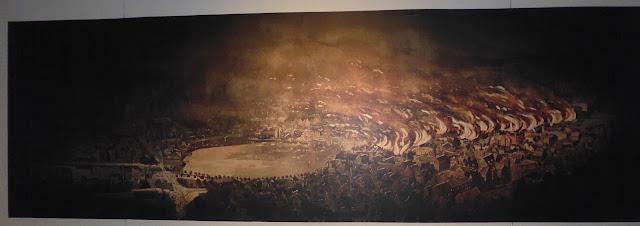 Incendio de la ciudad de Bergen en 1916