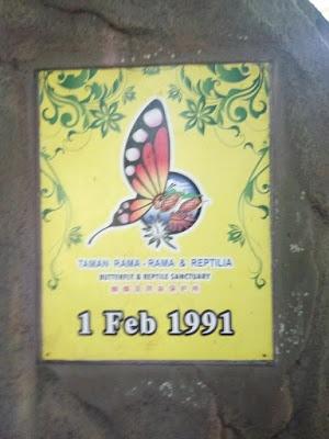 dirasmikan pada tahun 1991