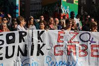 Concentración contra la última agresión sexual en Barakaldo