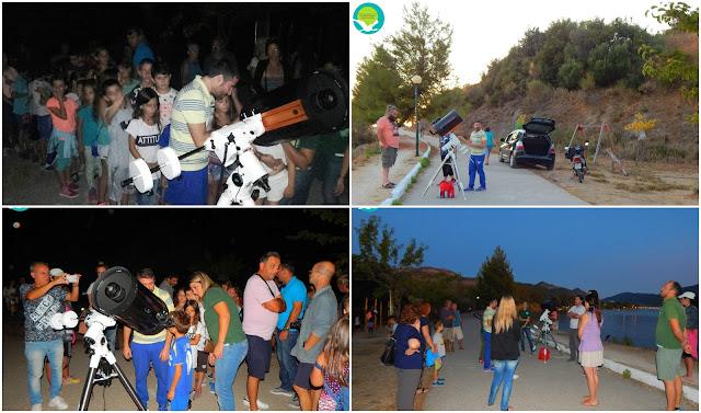 Μαγευτική αστροβραδιά στον ποδηλατόδρομο Ηγουμενίτσας
