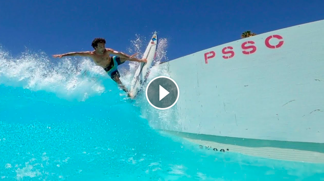 Mason Ho Surfing Palm Springs GoPro Experience