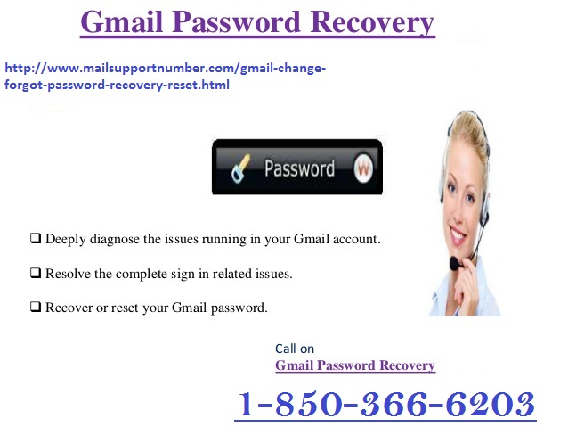 How to get Gmail Password Recovery via password recovery form?
