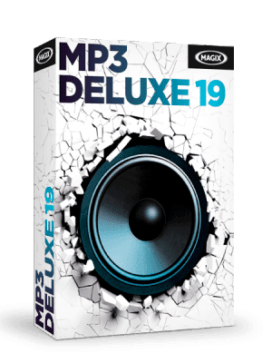 MAGIX MP3 Deluxe box