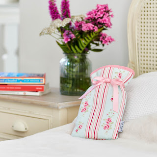 Mini Hot Water Bottle - Cathy Print: £15.00