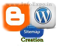 simple trick to generate SiteMap of  blogger and wordpress blogs