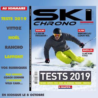 SkiChrono Special test 2019 - Photo de couverture Cyprien Richard ©Laurent Salino / Agence Zoom