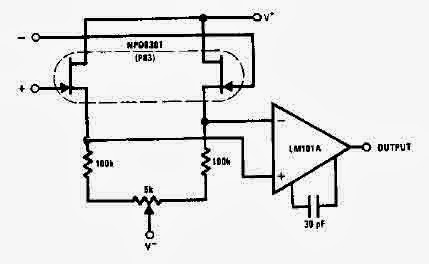 Forum Diagram: NPD8301 FET Audio Amplifier