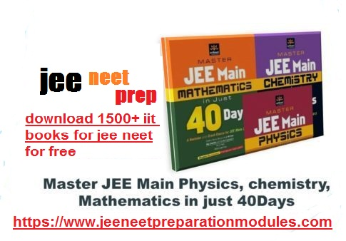 [PDF]DOWNLOAD JEE in 40Days PDF-Physics, Chemistry, Maths FOR FREE.