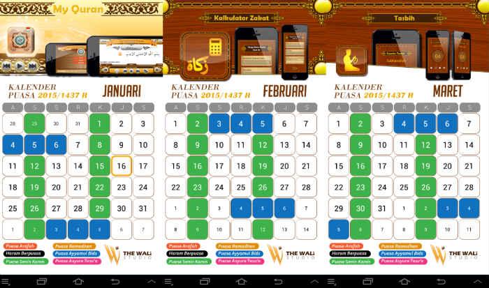 Aplikasi Jadwal Imsakiyah 2015 Android