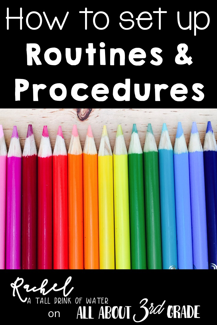 How to set up classroom routines and procedures in any elementary classroom!
